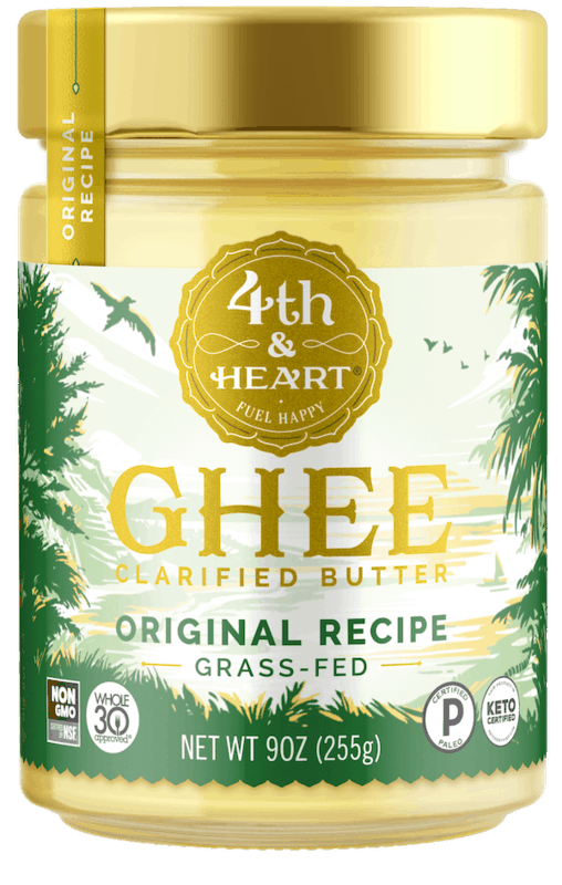 $1.00 for 4th & Heart Grass Fed Ghee (expiring on Friday, 04/30/2021). Offer available at multiple stores.