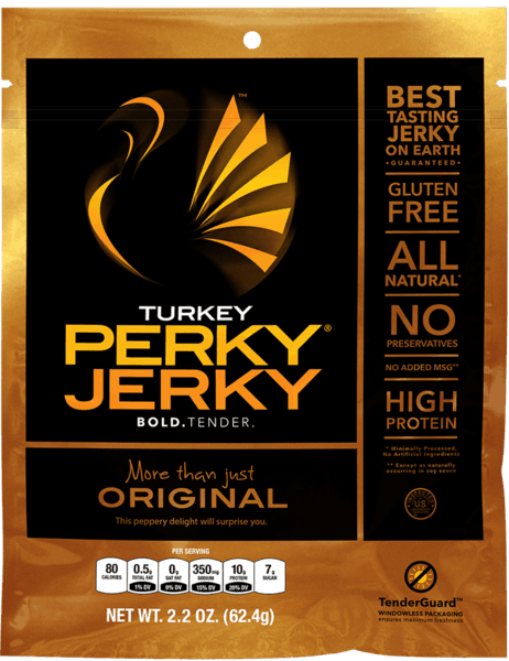 $4.00 for Turkey Perky Jerky®. Offer available at Walmart.
