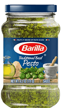 $0.75 for Barilla® Pesto (expiring on Sunday, 12/02/2018). Offer available at multiple stores.