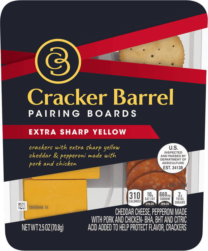 $0.75 for Cracker Barrel Pairing Boards (expiring on Sunday, 05/31/2020). Offer available at multiple stores.