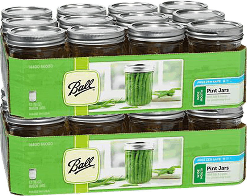 $0.75 for Ball/Kerr Jars (expiring on Wednesday, 04/01/2020). Offer available at multiple stores.