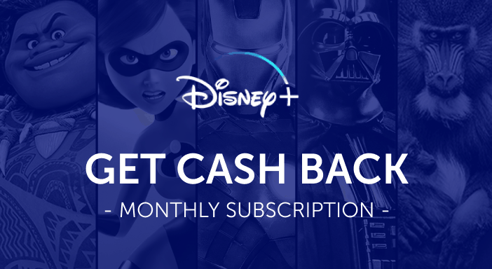 $0.00 for Disney+ (expiring on Wednesday, 08/31/2022). Offer available at Disney +.