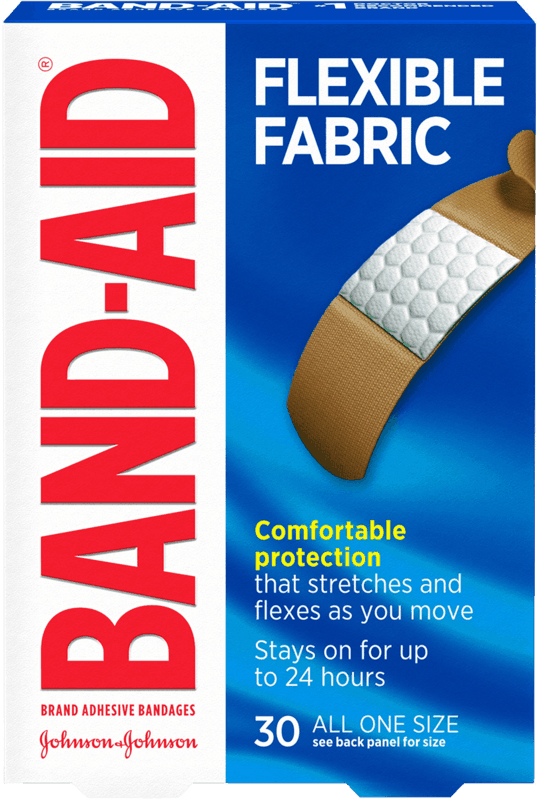 $0.50 for BAND-AID Brand Adhesive Bandages (expiring on Sunday, 11/08/2020). Offer available at Walmart, Walmart Grocery.