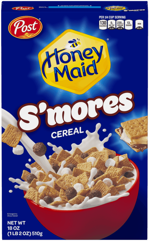 $0.50 for Honey Maid® S'mores Cereal. Offer available at Walmart.