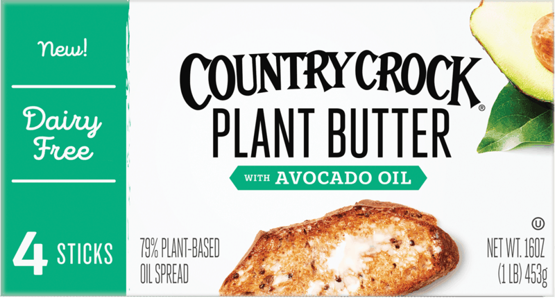 $1.00 for Country Crock Plant Butter Sticks (expiring on Thursday, 08/20/2020). Offer available at Walmart, Walmart Grocery.