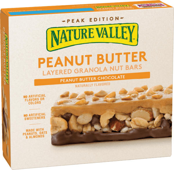 $0.75 for Nature Valley™ Layered Granola Nut Bars (expiring on Sunday, 09/16/2018). Offer available at Target.