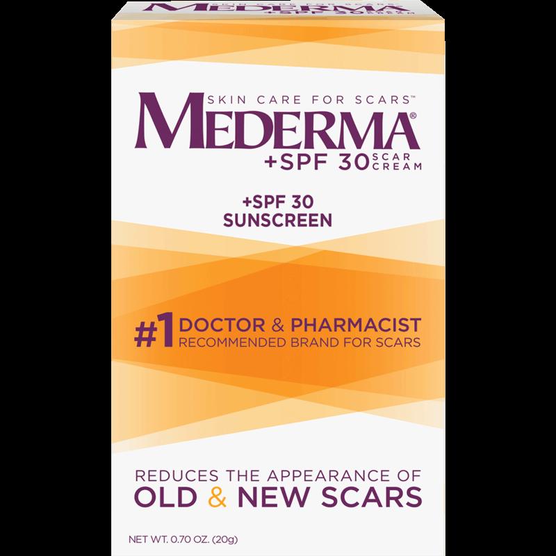 $7.00 for Mederma Scar Cream + SPF 30. Offer available at CVS Pharmacy.