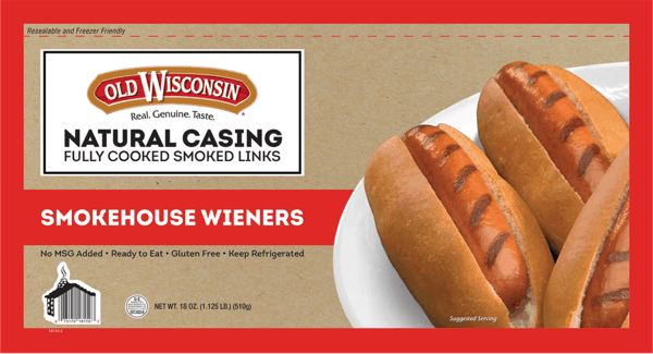 $0.75 for Old Wisconsin® Smoked Cooked Dinner Links (expiring on Tuesday, 04/02/2019). Offer available at Walmart.