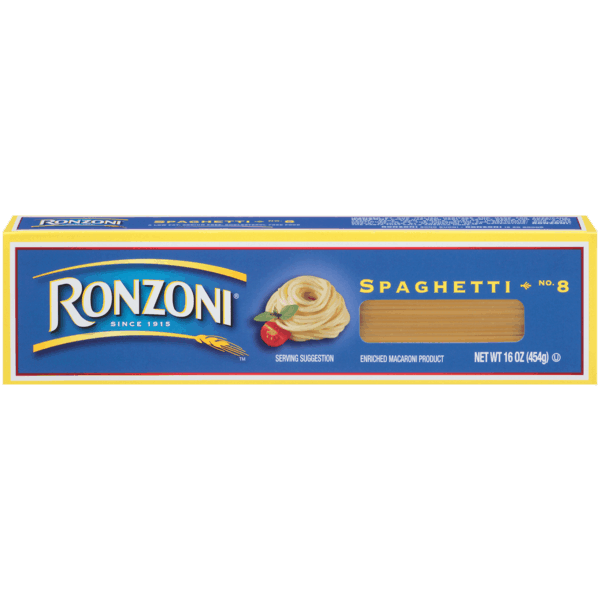 $1.00 for Ronzoni® Pasta (expiring on Wednesday, 07/24/2019). Offer available at Kroger, Food4Less.