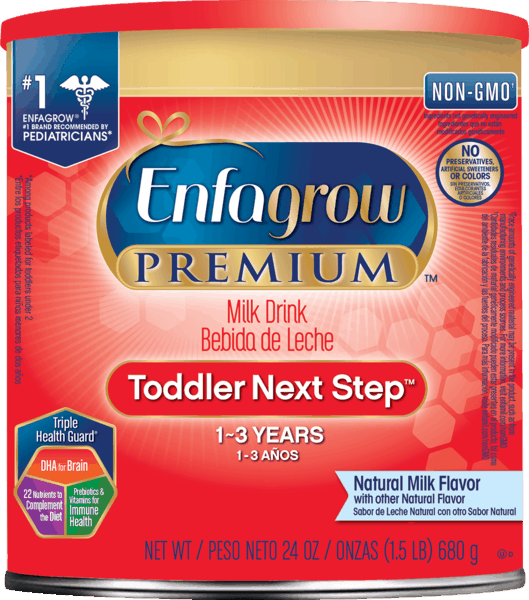 $3.00 for Enfagrow® Toddler Formulas and Milk Drinks Powder. Offer available at Walmart.
