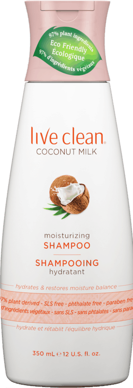 $4.98 for Live Clean Hair Care (expiring on Thursday, 10/01/2020). Offer available at Walmart, Walmart Grocery.