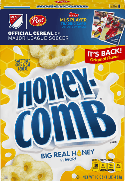 $0.35 for Honey-Comb® (expiring on Wednesday, 01/02/2019). Offer available at multiple stores.