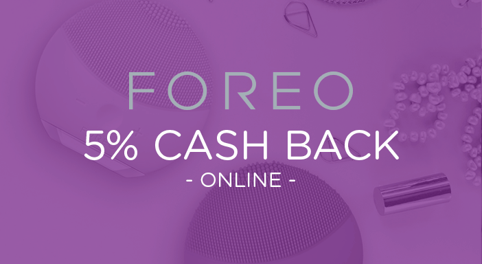 $0.00 for FOREO (expiring on Monday, 03/31/2025). Offer available at Foreo.