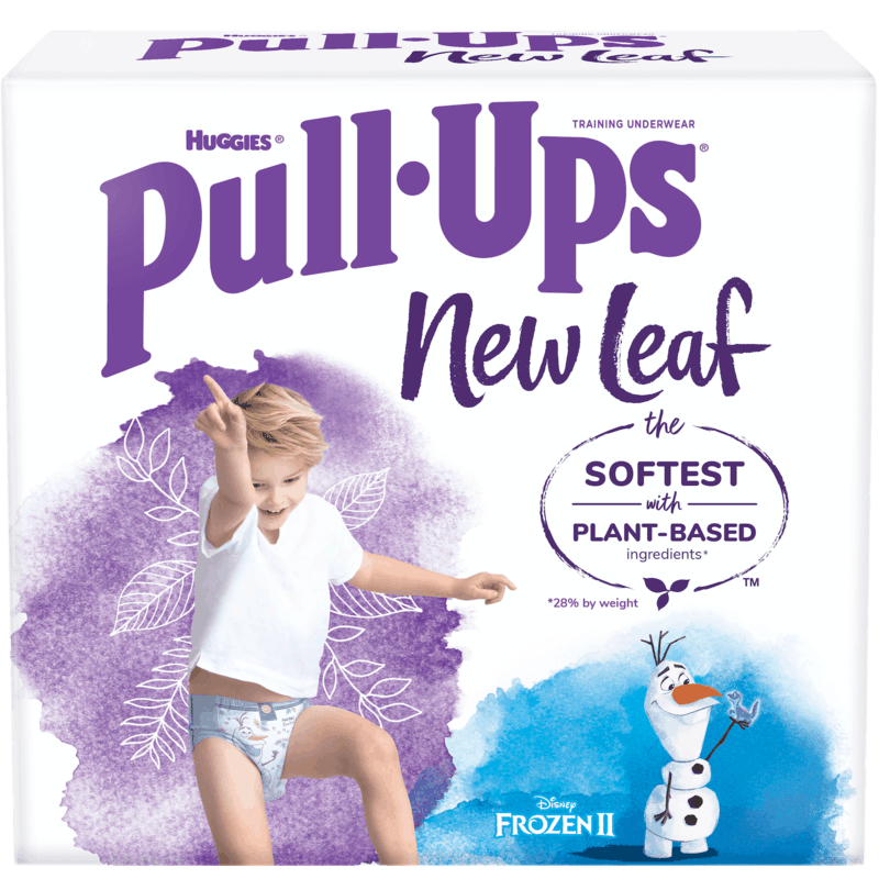 $4.00 for Huggies Pull-Ups New Leaf. Offer available at multiple stores.