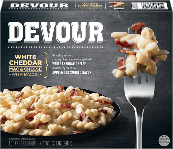 $0.50 for Devour™ Frozen Meals (expiring on Monday, 08/20/2018). Offer available at multiple stores.