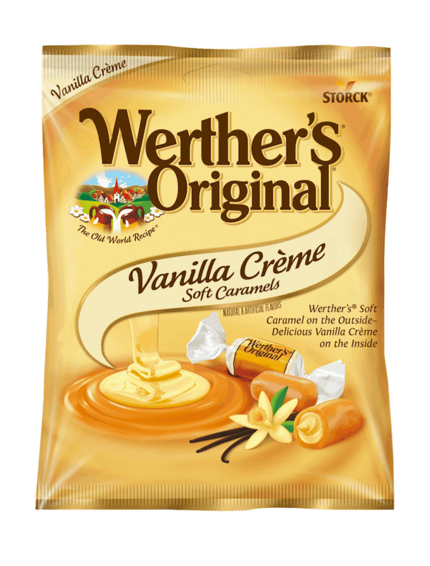 $0.50 for Werther's Original Caramels (expiring on Thursday, 12/31/2020). Offer available at Target, [TEST] Target.com.