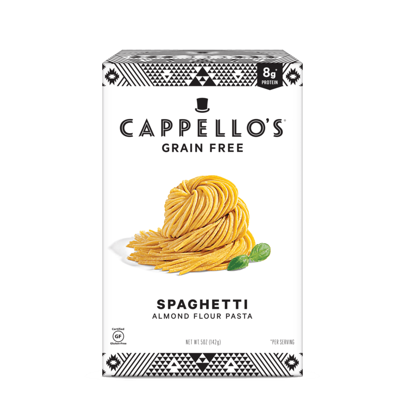 $1.00 for Cappello's Pasta (expiring on Monday, 11/30/2020). Offer available at Walmart, Walmart Grocery.