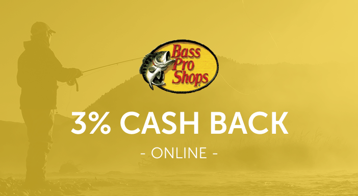 $0.00 for Bass Pro (expiring on Monday, 03/31/2025). Offer available at Bass Pro Shops.