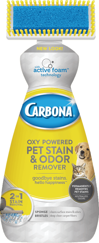 $2.00 for Carbona® Pet Stain & Odor Remover (expiring on Monday, 12/02/2019). Offer available at multiple stores.