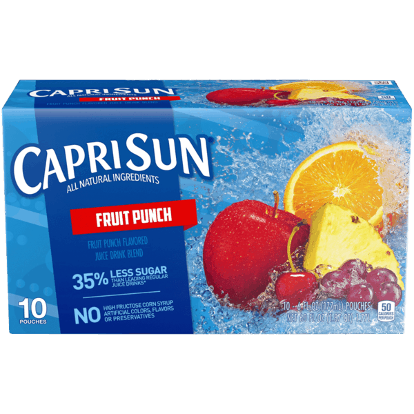 $0.25 for Capri Sun® (expiring on Monday, 04/30/2018). Offer available at Walmart.