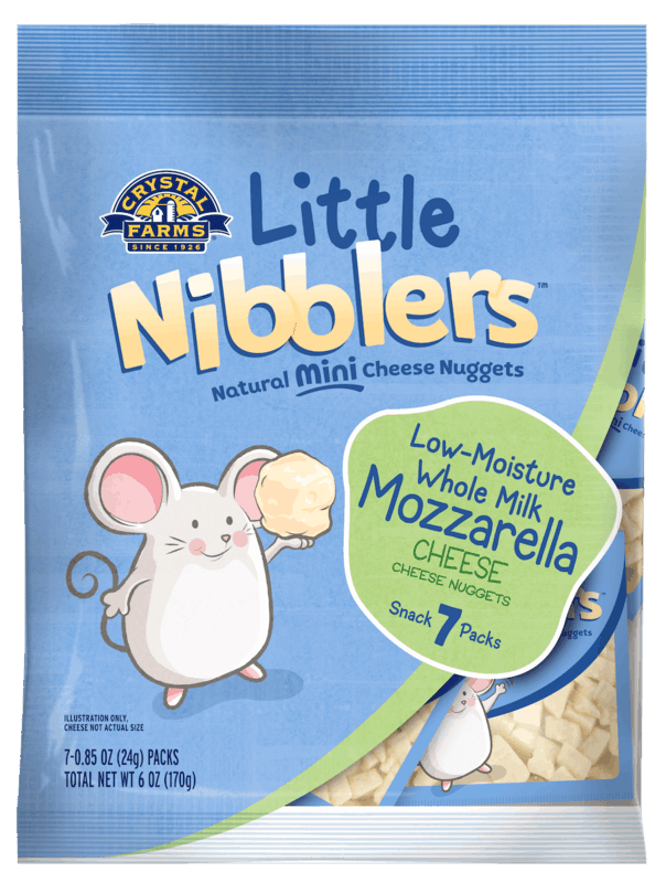$0.50 for Crystal Farms® Nibblers™ Toddler Snack (expiring on Tuesday, 06/02/2020). Offer available at multiple stores.