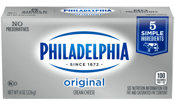 $0.50 for PHILADELPHIA Original Cream Cheese (expiring on Tuesday, 06/02/2020). Offer available at multiple stores.