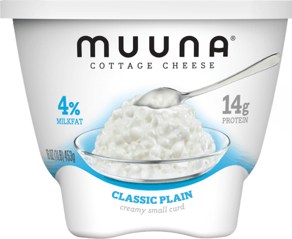 $1.00 for Muuna® Cottage Cheese Classic Plain (expiring on Monday, 07/02/2018). Offer available at Walmart.