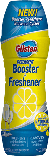 $2.00 for Glisten® Detergent Booster + Freshener (expiring on Thursday, 02/01/2018). Offer available at Kroger.