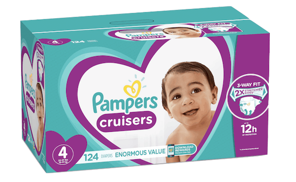 $3.00 for Pampers®Cruisers (expiring on Wednesday, 10/02/2019). Offer available at Walmart.