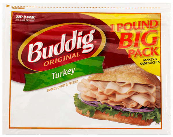 $1.00 for Buddig™ Original Lunchmeat (expiring on Saturday, 03/10/2018). Offer available at Walmart.