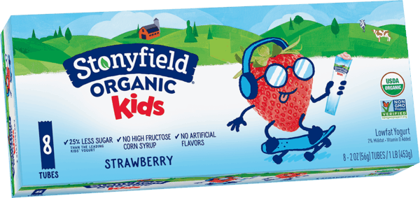$0.75 for Stonyfield® Organic Kids Yogurt (expiring on Sunday, 07/01/2018). Offer available at multiple stores.