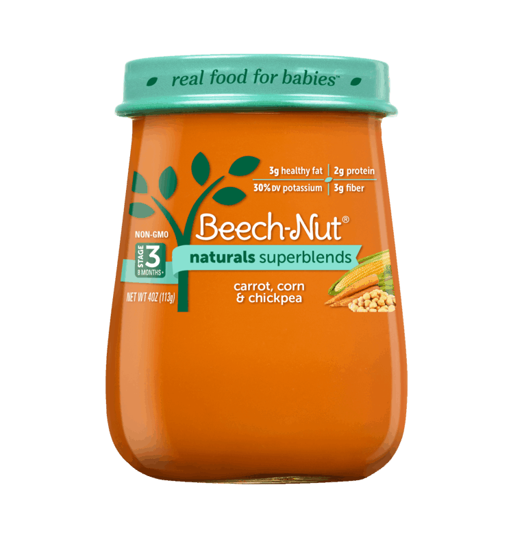 $1.00 for Beech-Nut Naturals Superblend Jars (expiring on Tuesday, 08/24/2021). Offer available at multiple stores.
