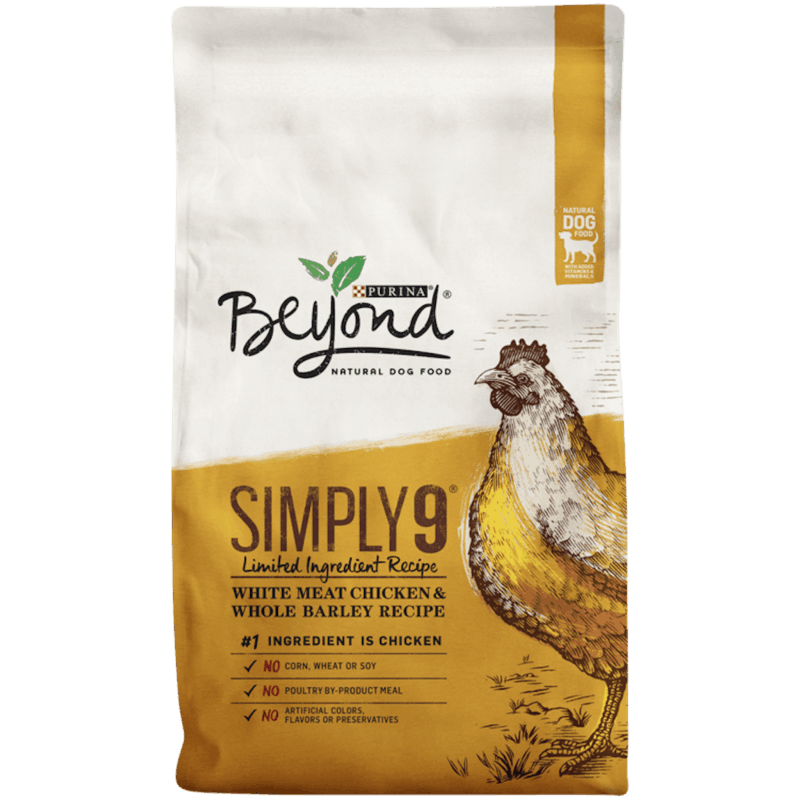 $4.00 for Purina® Beyond® Dry Dog Food (expiring on Wednesday, 10/02/2019). Offer available at multiple stores.