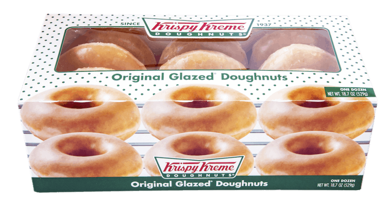 $1.00 for Krispy Kreme Doughnuts (expiring on Saturday, 04/25/2020). Offer available at multiple stores.