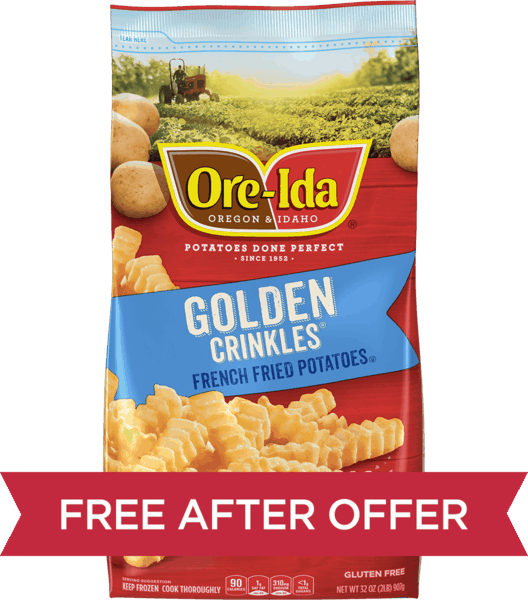 $3.70 for ORE-IDA® Fries. Offer available at multiple stores.