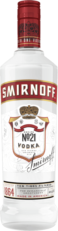 $1.00 for SMIRNOFF Vodka (expiring on Wednesday, 07/01/2020). Offer available at multiple stores.