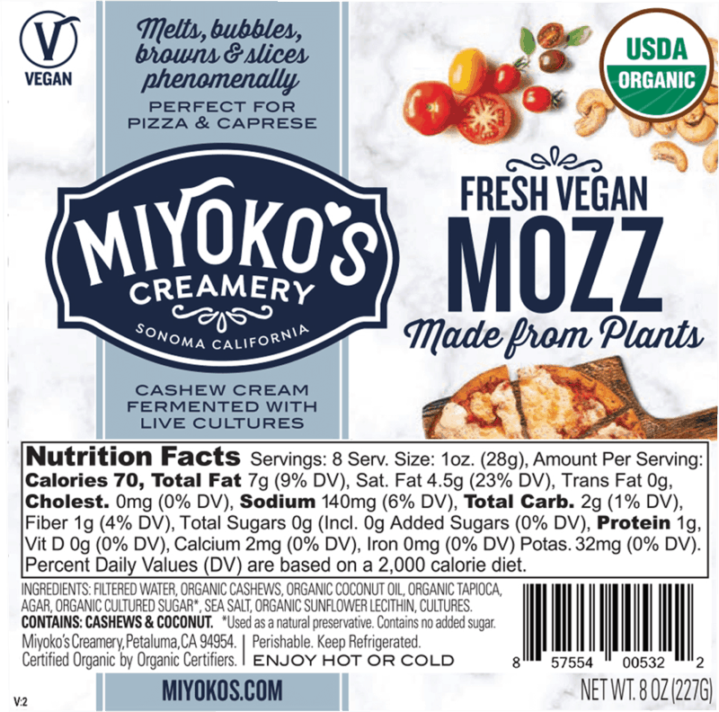 $1.50 for Miyoko's Creamery Products (expiring on Thursday, 01/30/2020). Offer available at multiple stores.