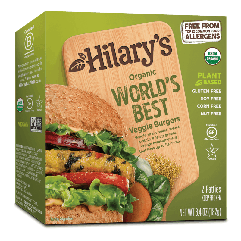 $1.00 for Hilary's Products (expiring on Saturday, 01/11/2020). Offer available at multiple stores.