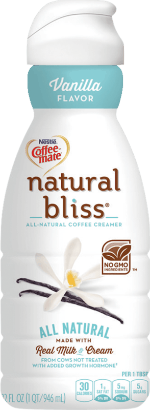 $0.50 for Coffee mate natural bliss creamer (expiring on Wednesday, 01/22/2020). Offer available at multiple stores.