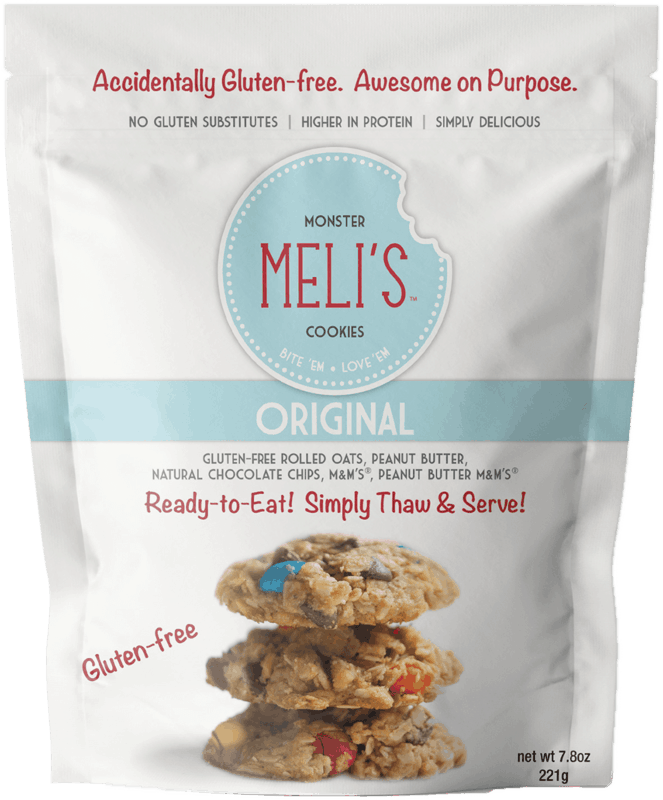$1.00 for Meli's™ Monster Cookies Gluten-Free Dry Mixes (expiring on Thursday, 04/02/2020). Offer available at multiple stores.