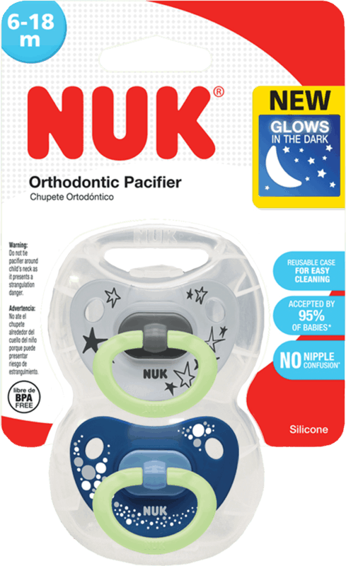 $0.50 for NUK Pacifiers (expiring on Saturday, 10/31/2020). Offer available at Walmart, Walmart Grocery.
