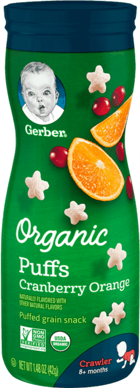 $0.75 for Gerber® Organic Snacks (expiring on Friday, 07/26/2019). Offer available at Walmart.