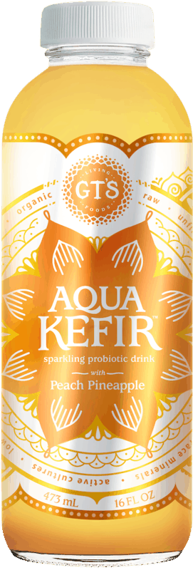 $1.25 for GT's Aqua Kefir (expiring on Thursday, 05/14/2020). Offer available at Meijer, Stater Bros.