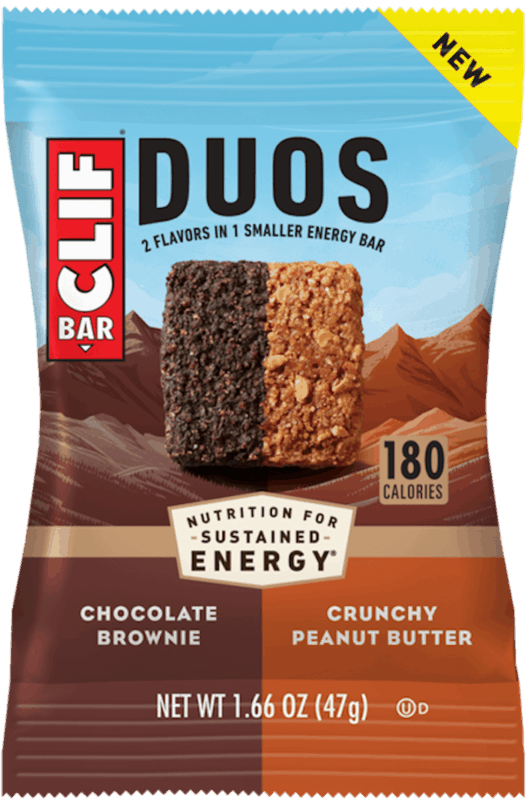 $0.25 for CLIF Duos (expiring on Tuesday, 10/26/2021). Offer available at multiple stores.