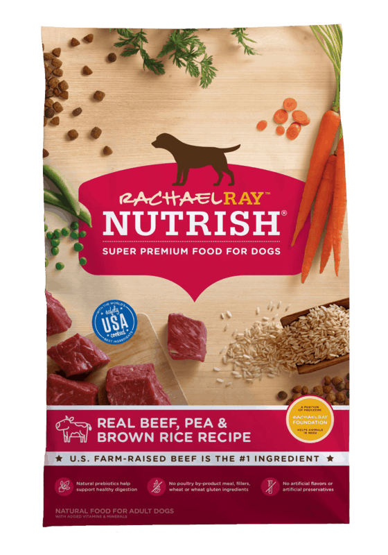 $1.00 for Rachael Ray Nutrish Dry Dog Food (expiring on Sunday, 04/12/2020). Offer available at multiple stores.