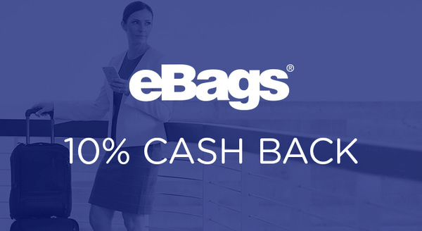 $0.00 for eBags (expiring on Wednesday, 09/26/2018). Offer available at eBags.