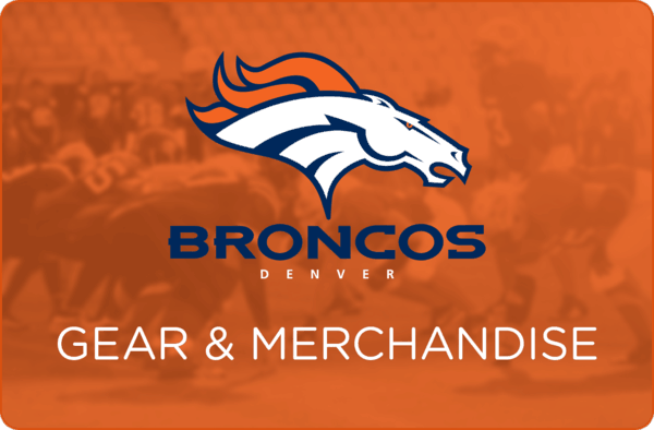 $2.00 for Denver Broncos Gear (expiring on Wednesday, 10/18/2017). Offer available at King Soopers, City Market.
