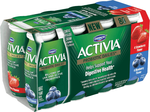 $1.00 for Activia® Dailies* Nonfat Yogurt Drink (expiring on Saturday, 05/19/2018). Offer available at Walmart.