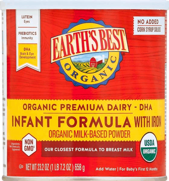 $5.00 for Earth's Best® Organic Infant Formula (expiring on Thursday, 02/14/2019). Offer available at Walmart.