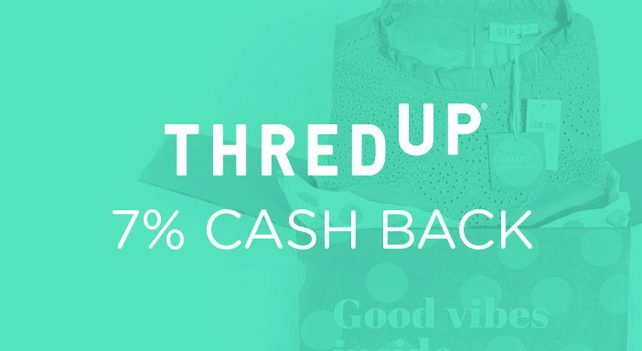 $0.00 for thredUP (expiring on Tuesday, 03/31/2020). Offer available at thredUP.
